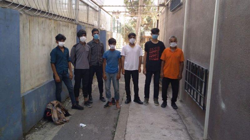 TEM'de 7 düzensiz göçmen yakalandı