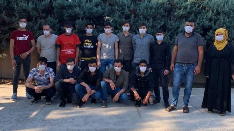 TEM'de 15 kaçak göçmen yakalandı
