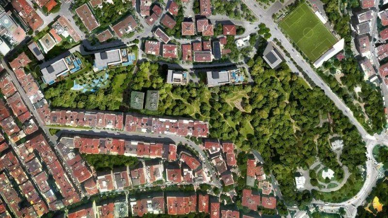 Koruya ve yeşil alanlara komşu konutlar iki kat daha değerli
