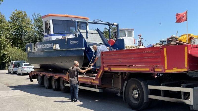 Deniz Süpürgesi Bodrum sahillerini temizleyecek
