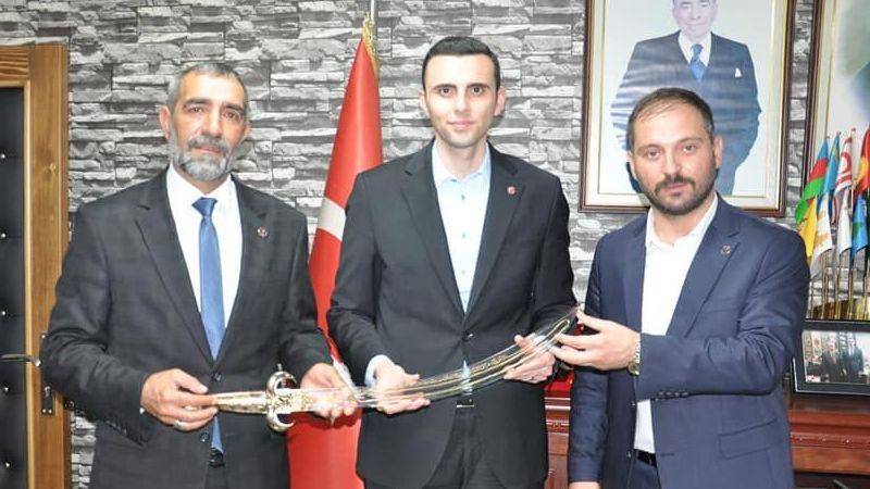 BBP heyeti MHP İl Başkanı Kurt'u ziyaret etti