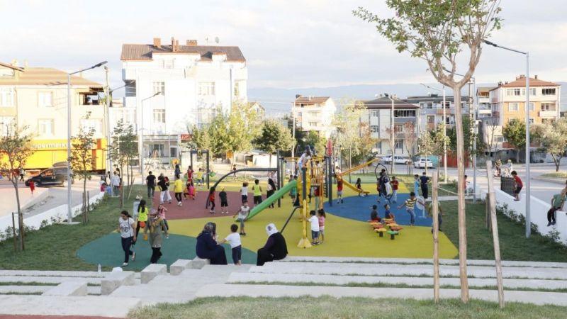 Hacı Bektaş Veli Parkı tamamlandı