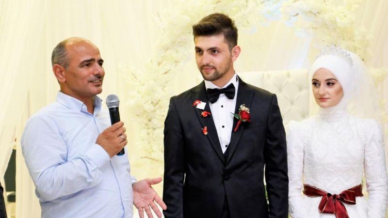 Muhtar Bekler, oğlunu evlendirdi
