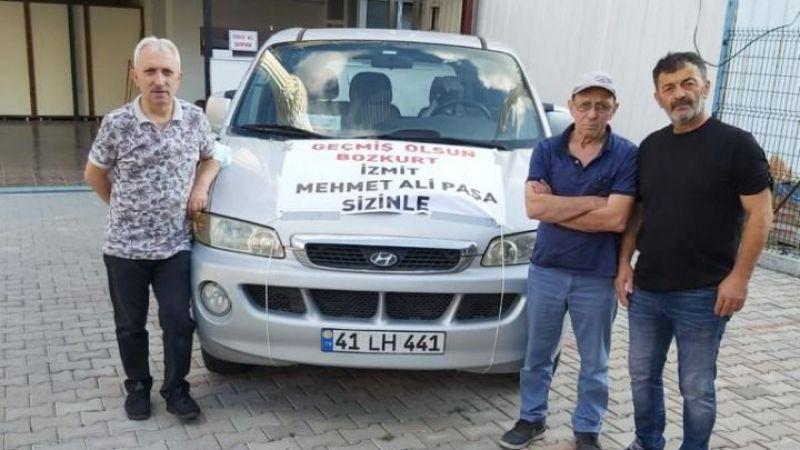 Paşalılar'dan felaket bölgesine destek