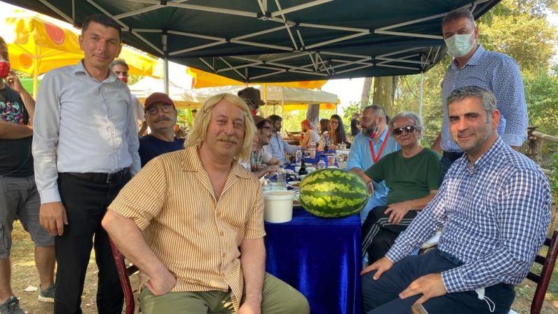 Başkan Turan'dan Cem Yılmaz'a ziyaret