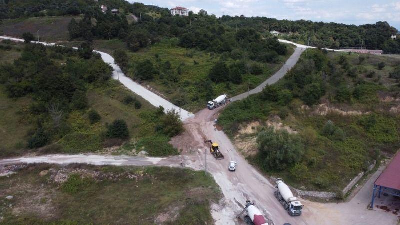 Eşme'de köy yollarına büyük yatırım