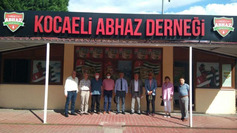 Vatan Partisi'nden Abhazya Derneği'nde