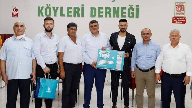 AK Partililer, Harmancık Köyü Derneği'ni ziyaret etti