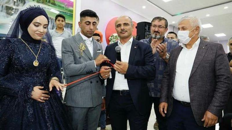 Muhtar Öner'in oğlu evliliğe ilk adımını attı