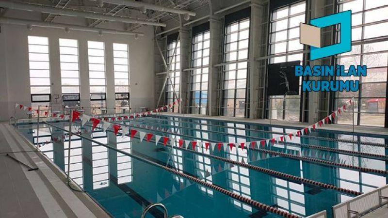 Havuzda kullanılmak üzere spor malzemeleri alınacak