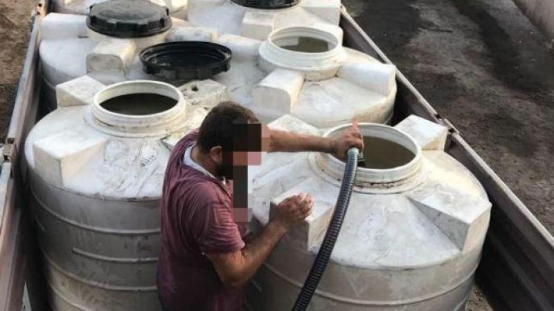 İşyerinde binlerce litre kaçak akaryakıt ele geçirildi