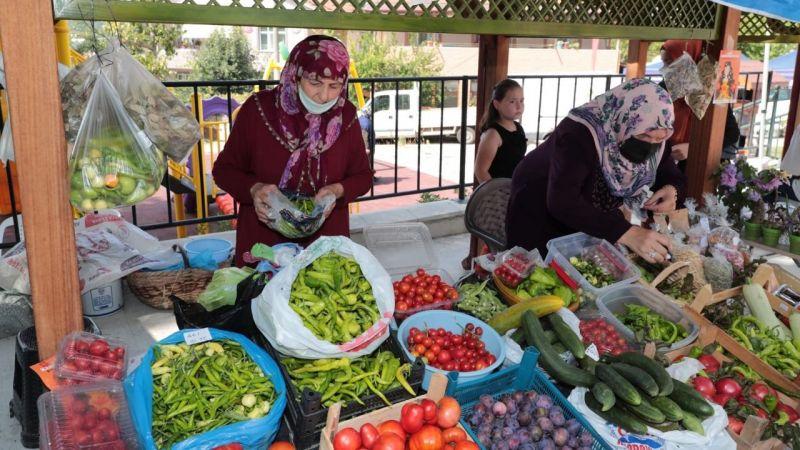 Bu pazarda vatandaşlar ürettikleri ürünleri satacak