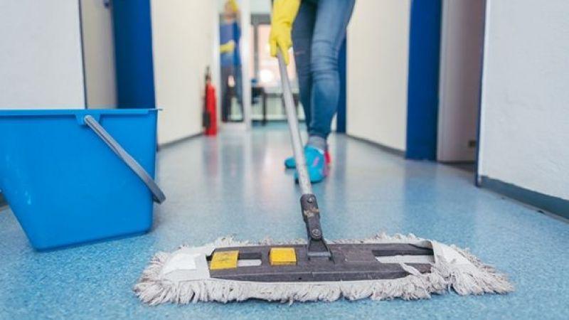 1.280 temizlik personeli 6 Eylül'de başlayacak