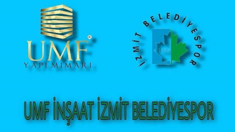 İzmit Belediyespor'un ana sponsoru belli oldu