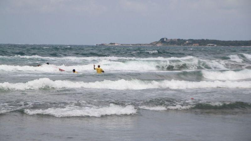Son bir haftada sahillerde 130 kişi boğulmaktan kurtarıldı