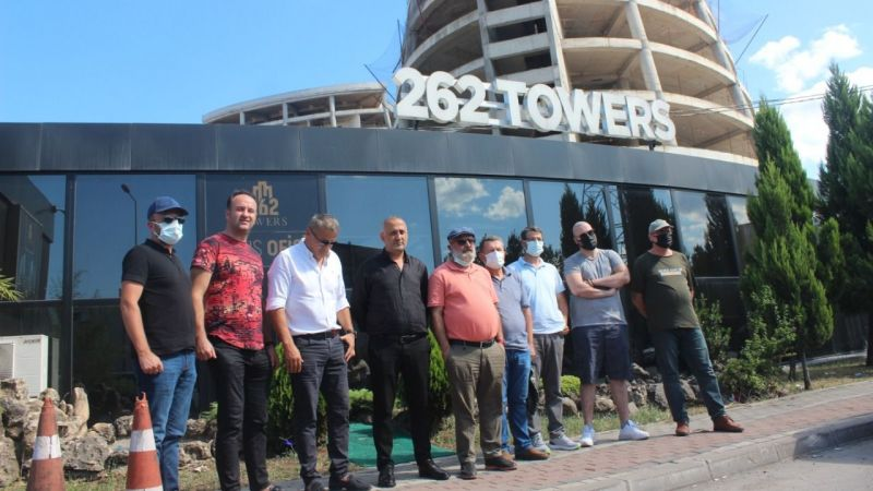 262 Towers'da mağdurlar çözüm istiyor