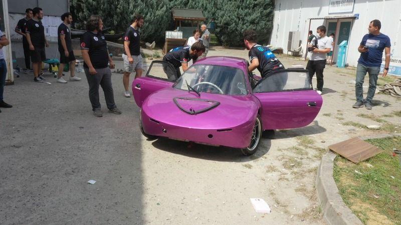 KOÜ Electromobile Takımı'nda ilk yarış heyecanı