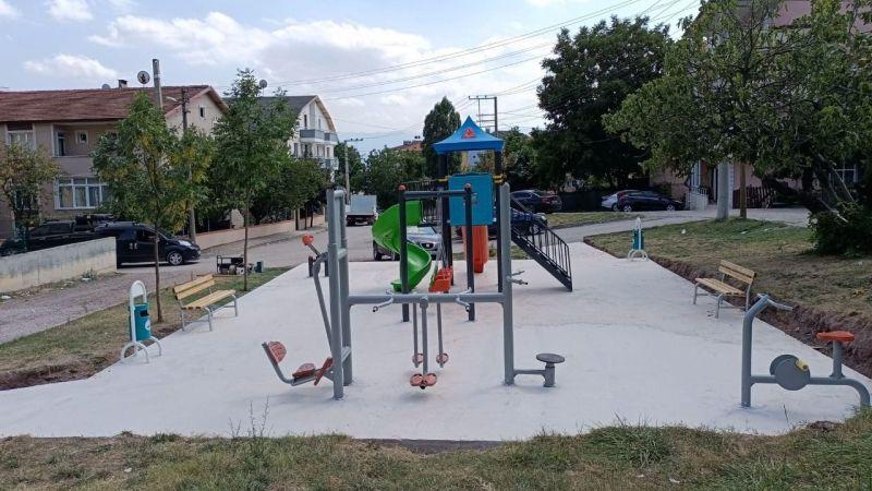 Derince'de parklarda yeni düzenlemeler