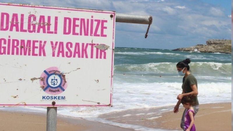 Kandıra'da denize girmek yasaklandı