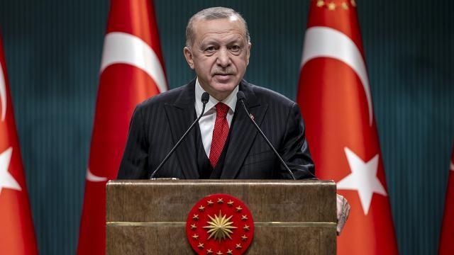 """Erdoğan: """"Okullarımızı açık tutmakta kararlıyız"""""""