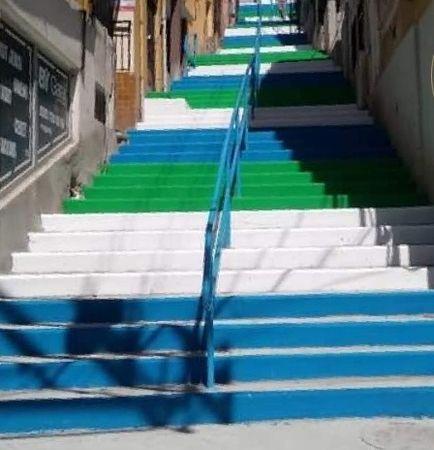 Kuruçeşme'ye yeni merdiven!