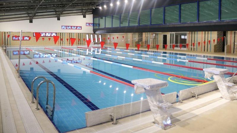 Gebze Cumhuriyet Yüzme Havuzu sporcuları bekliyor