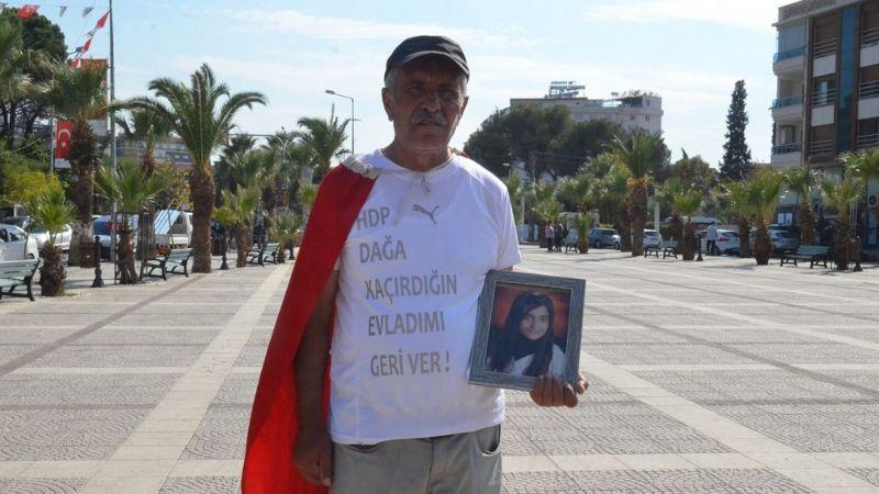 11 yıl önce Kocaeli'de PKK tarafından kaçırılan kızı için yürüyor
