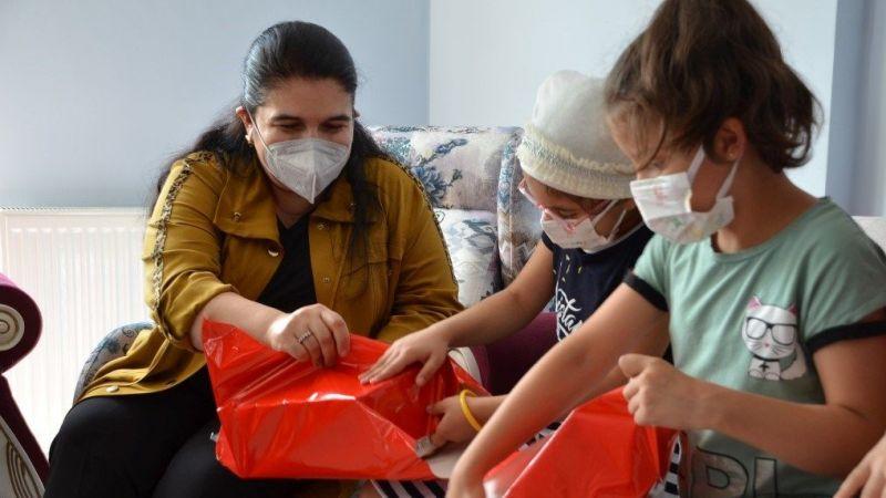 Selda Yavuz'dan Sevgi Evleri ziyareti