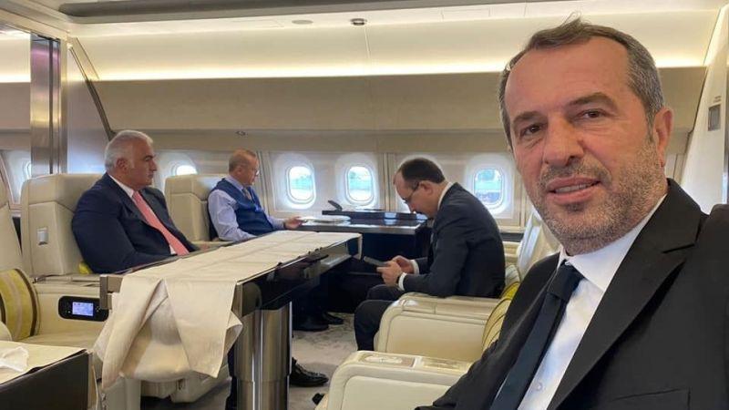 MHP'li Sancaklı Erdoğan'la birlikte