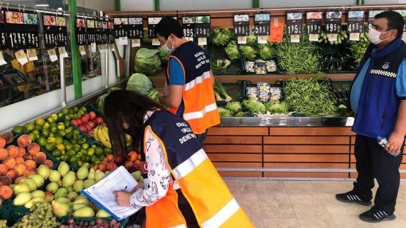Kocaeli'de fahiş fiyat artışları sıkı takipte! Usulsüzlük yapan firmalara ceza kesildi