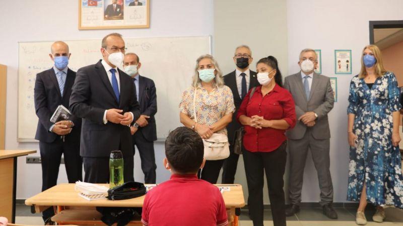 Vali Yavuz, Şehit Öğretmen Erkan Aydın İlkokulu'nu ziyaret etti