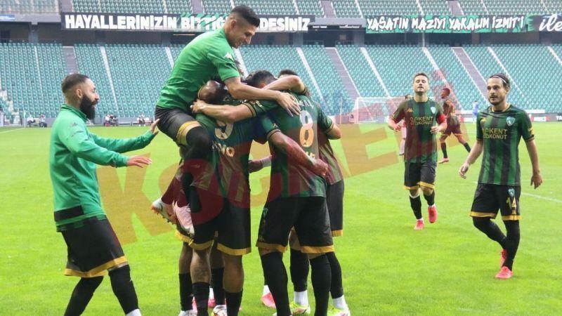 Kocaelispor Dino'nun 3 golüyle 3 puanı kaptı