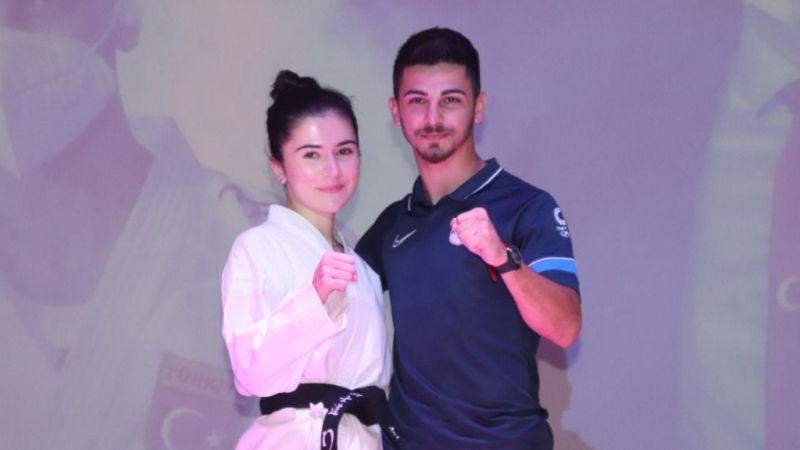 """Eray Şamdan, Bahçeşehir Koleji'nde: """"Yeni hedefim Dünya Karate Şampiyonası"""""""