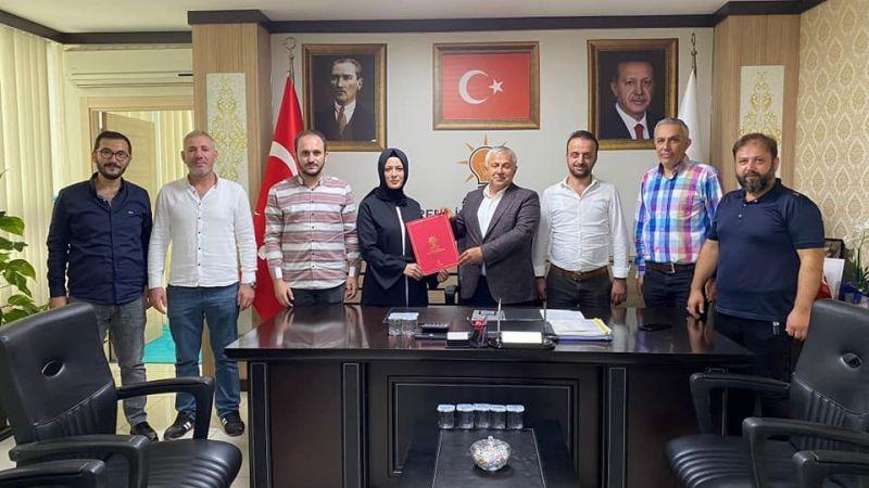 Tuna'dan yeni başkana tebrik
