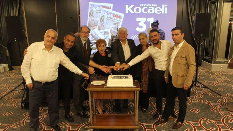 Özgür Kocaeli 31'inci yıla 'merhaba' dedi