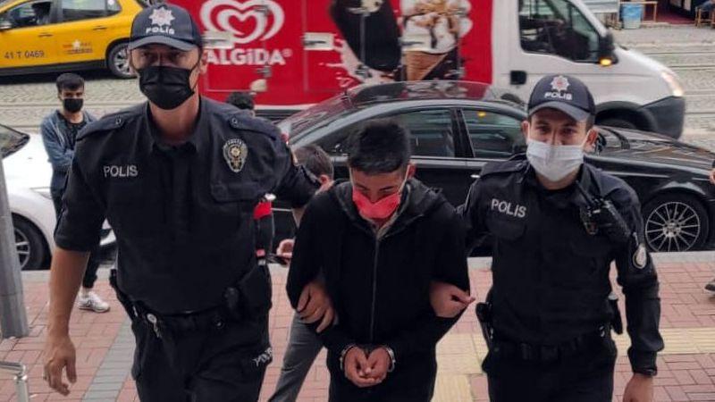 İş yerini soyan şahıs tutuklandı
