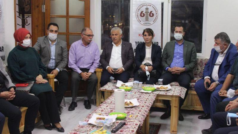 Yozgatlılar, AK Parti'yi ağırladı
