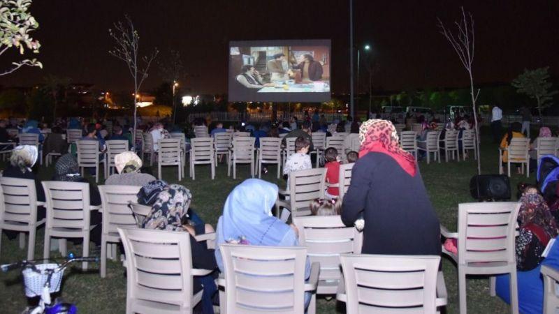 Kartepe'de yazlık sinema 'Mavi Boncuk'la devam etti