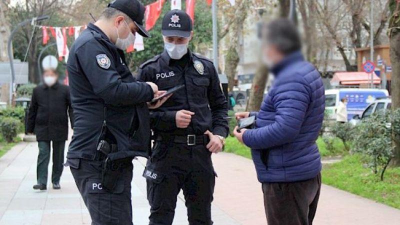 Karantina ihlali yapanlar sokakta yakalandı