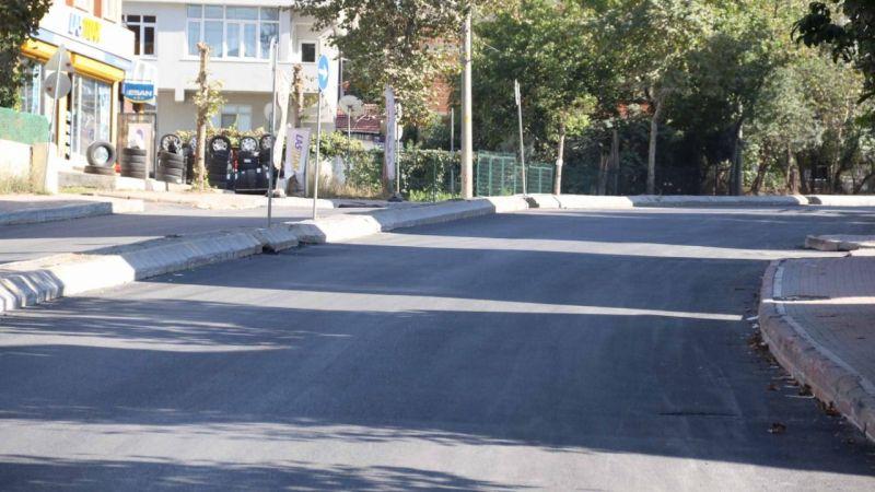 Şehit Oktay'da yol konforu sağlandı