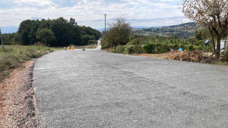 İzmit'in 3 köyüne beton yol yapılıyor