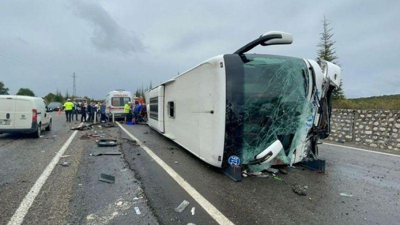 Efe Tur otobüsü kaza yaptı: Ölü ve yaralılar var!