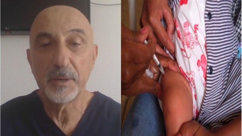 Bebeğe Covid-19 aşısı yapıldı iddiasına soruşturma