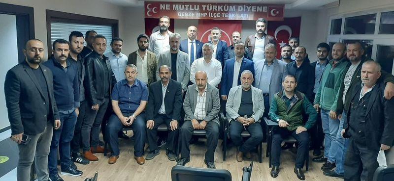 GİRİB'den MHP'li Özdemir'e ziyaret