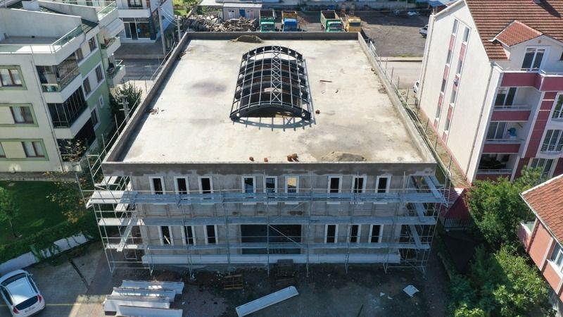 Başiskele'nin ilk kütüphanesi yıl sonu tamamlanacak