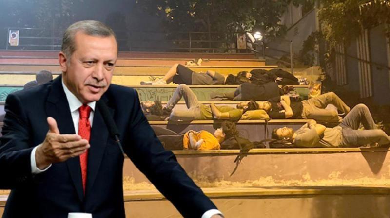 """Cumhurbaşkanı Erdoğan'dan 'Barınamıyoruz' eylemlerine tepki: """"Hayatınız yalan"""""""