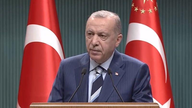 Erdoğan: Parkta yatanların bir kısmı öğrenci değil