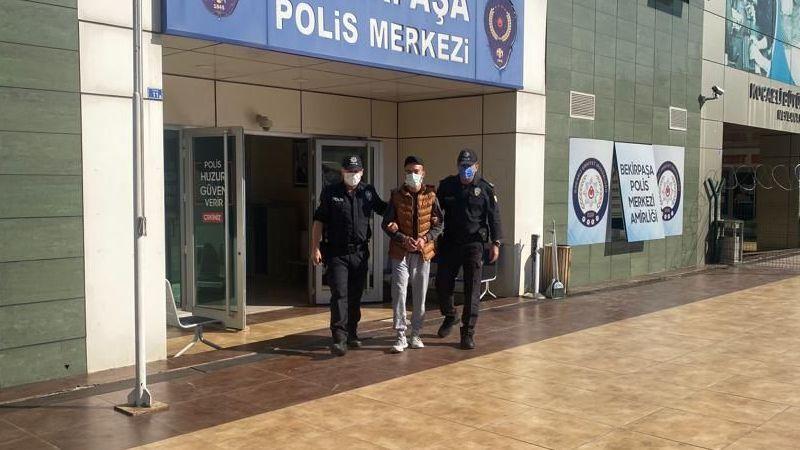 Aynı kuruyemişçiyi iki defa soyan hırsız tutuklandı
