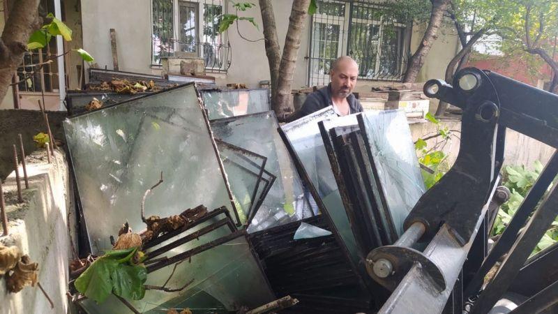 İzmit'te her ay 150 ton atık cam topluyor