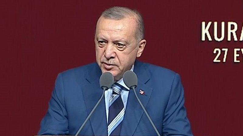 Cumhurbaşkanı Erdoğan'dan yeni yargı paketlerine ilişkin açıklama